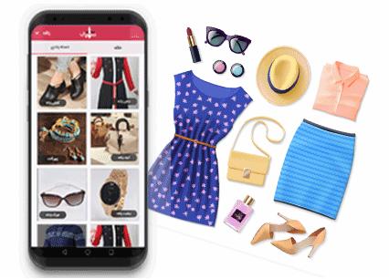 سلیقه اپلیکیشن جستجوگر لباس